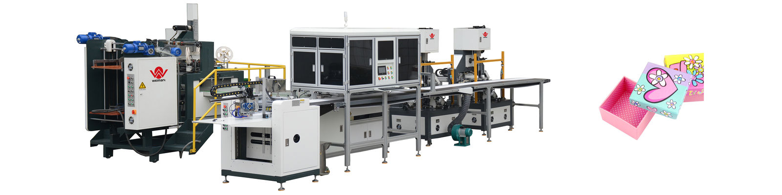 China best Automatic Rigid Box Making Machine on sales