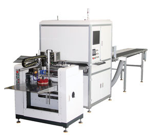 China Positioning and Gluing Machine / Automatic Rigid Box Making Machine supplier