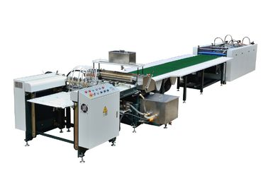 Automatic Feeding Paper To Gluing &  Manual Positioning Semiautomatic Case Machine