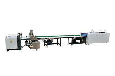China Fast Speed Semi Automatic Case Making Machine With Conveyor Belt supplier