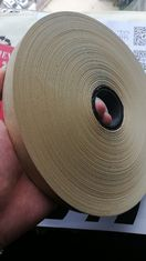 Yellow  TA1 Kraft Paper Adhesive Tape For Semiautomatic And Automatic Corner Pasting Machine