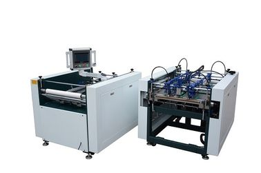 China Energy Saving Semi Automatic Case Making Machine / Four Side Folding Machine factory
