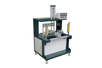 0.4kw Box Manufacturing Equipment 6 Cylinders And 5 Sides To Pressing Rigid Box Air Bubbles