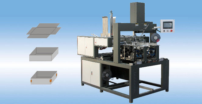 WM-40A Automatic Four Corner Tapping Machine for Rigid Box Making supplier