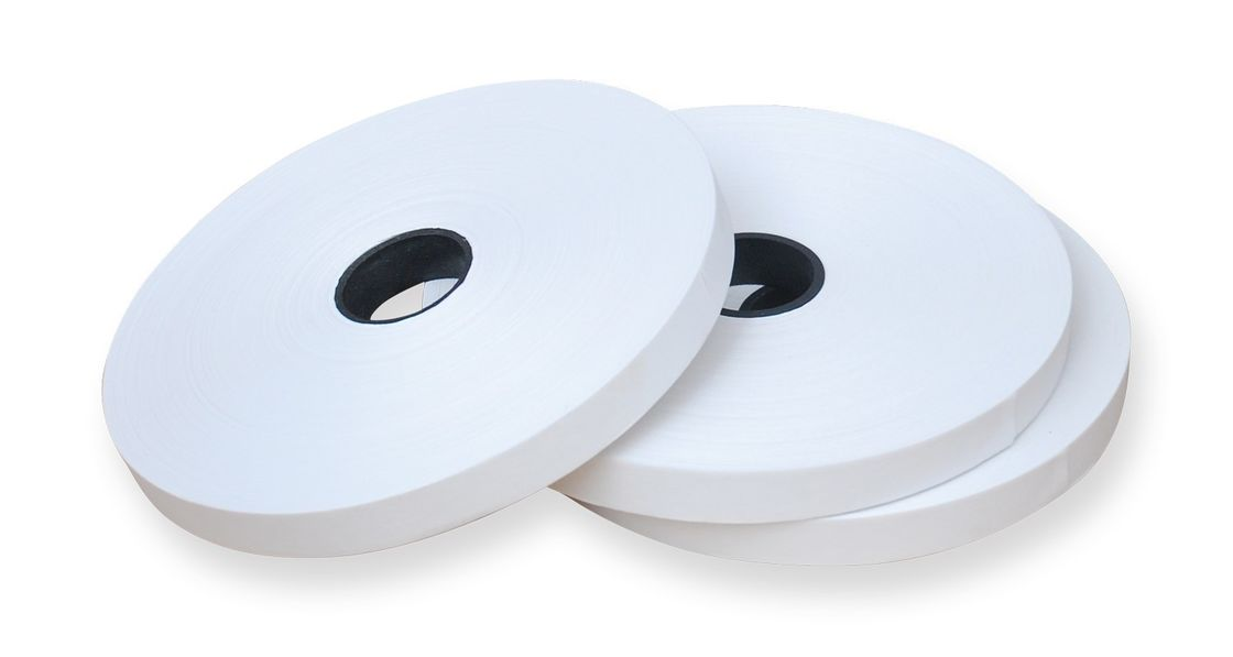 TS2 - 19  White Color 19mm Width Kraft Paper Tape For Corner Pasting Machine supplier