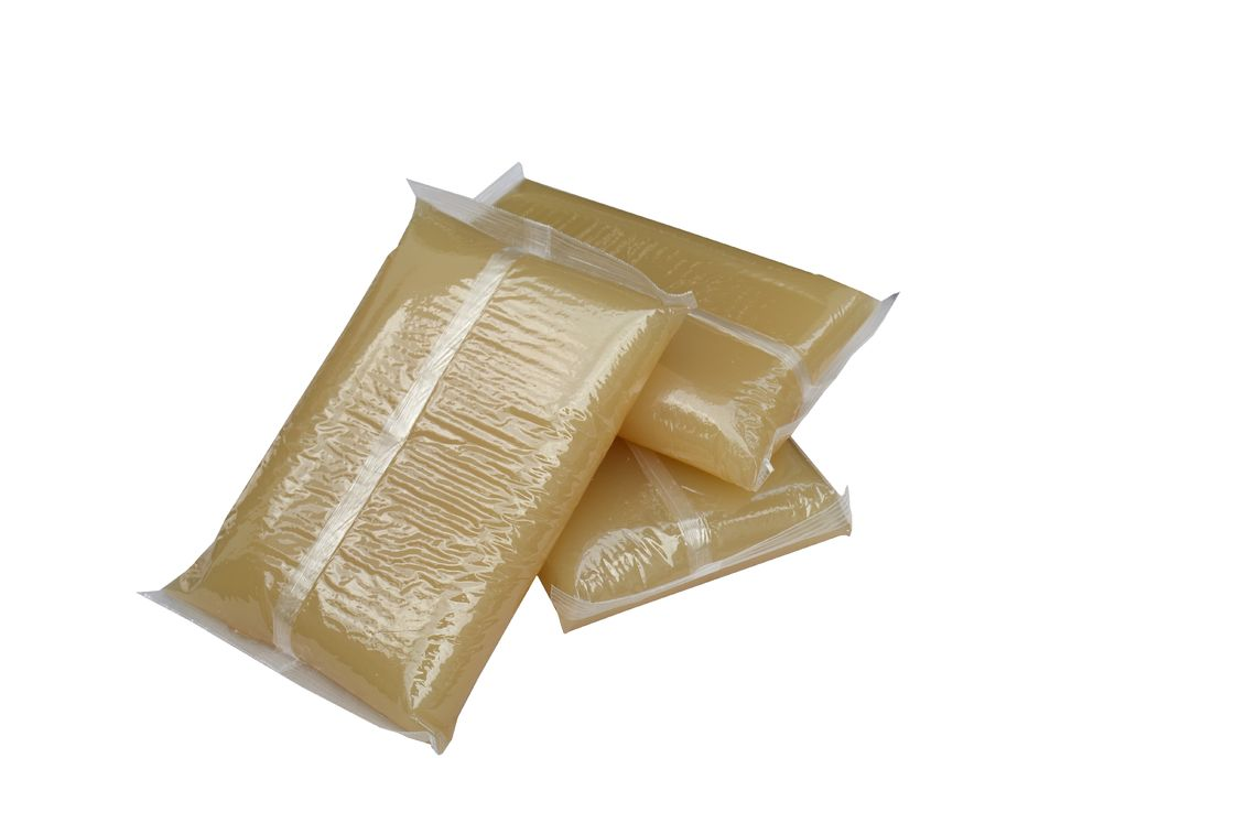 Packaging Industry Use Jelly Glue For Hardbook Case 3500 ± 50cps Viscosity supplier