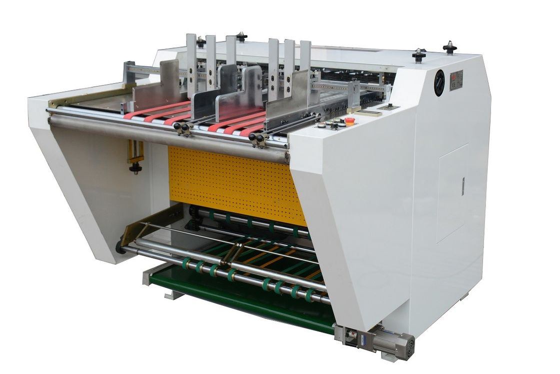 WM-1200A Automatic Grooving Machine for gift box / Notching machine for Shoes Box supplier