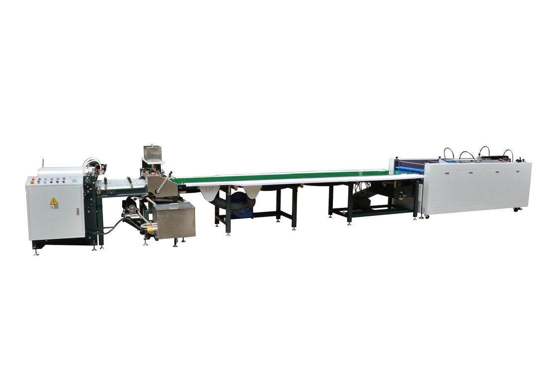 Fast Speed Semi Automatic Case Making Machine With Conveyor Belt supplier