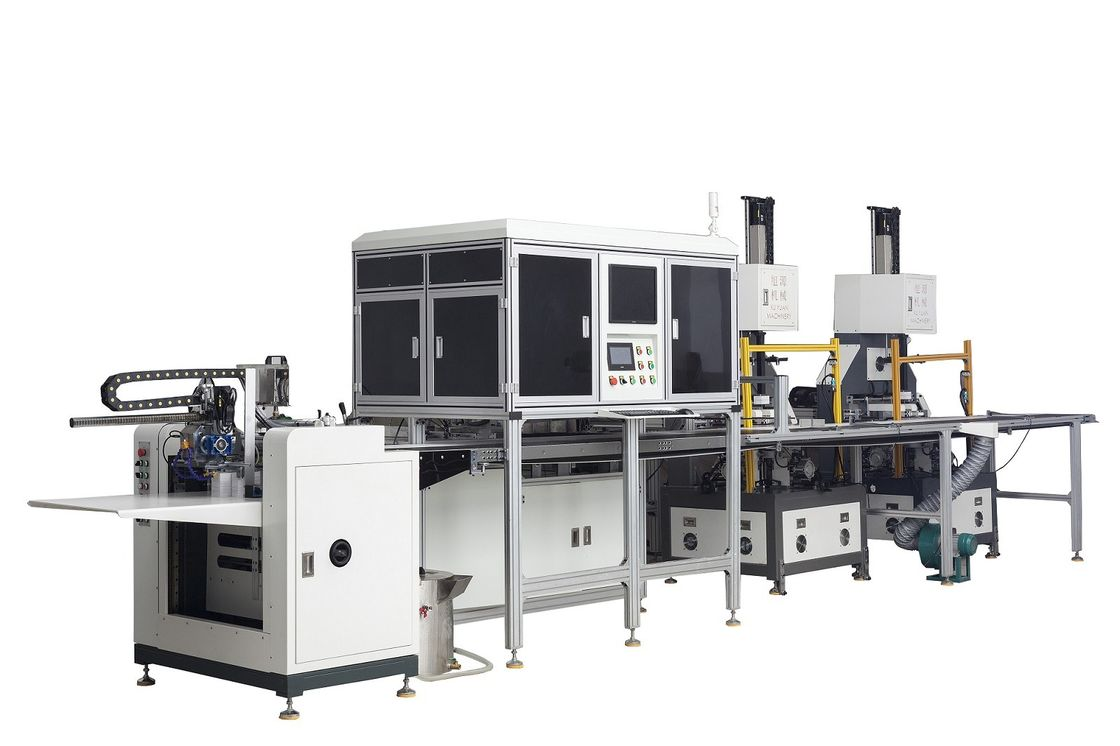 Fully Automatic Rigid Box Making Machine WM-4045A to Make the Rigid Gift Boxes supplier
