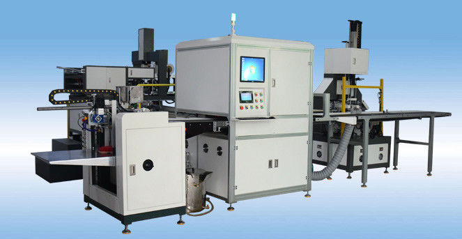 Full Automatic Rigid Box Making Machine 24 Hours Control For Glue Pre - Heating Function supplier