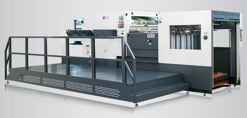 high accuracy automatic paper die cutting machine for card